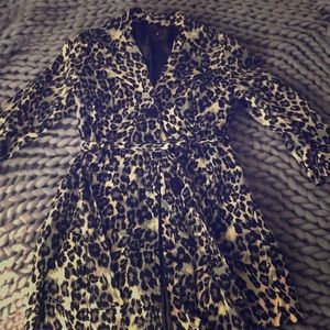 Dress leopard print jacket
